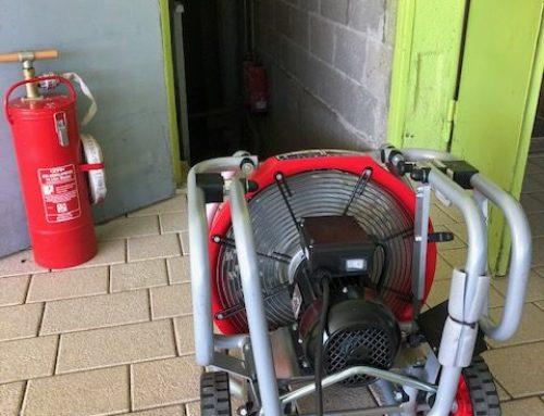 Einsatz der Feuerwehr Berglen am 28.09.2018 / BMA Nachbarschaftsschule Oppelsbohm