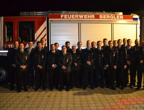 Hauptversammlung der Feuerwehr Berglen am 16.11.2018