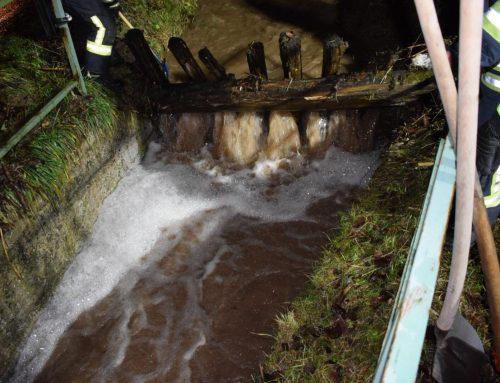 Einsatz 03/2019 – 14.01.2019 – Straße überflutet