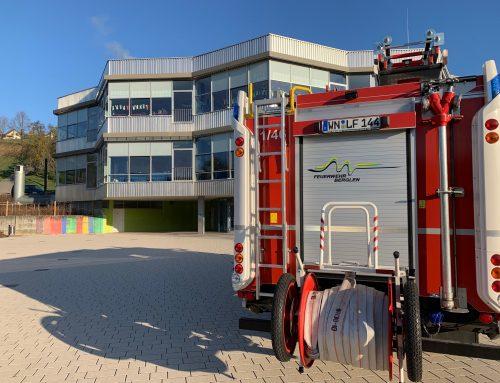 Brandschutzerziehung in der Schule am 28.03.2019