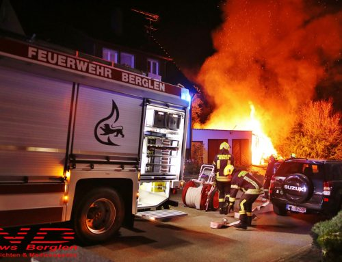Einsatz 007/2020 – Schuppenbrand