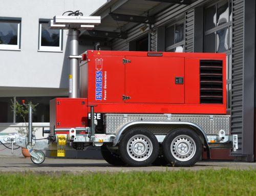 Neubeschaffung: Notstromaggregat für die Feuerwehr Berglen