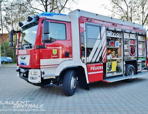 Neues Löschgruppenfahrzeug (LF 10) für die Feuerwehr Berglen