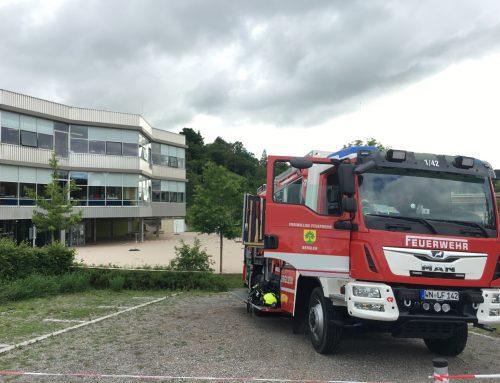Feuerwehr in der Schule – Brandschutzerziehung in der Klasse 4