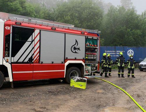 Einsatz 012/2021 – verdächtiger Rauch – Hößlinswart