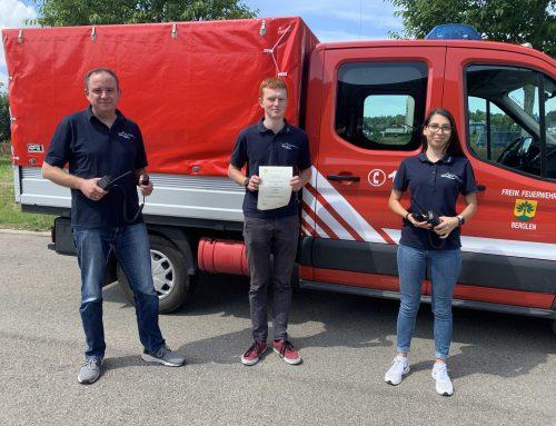 Ausbildung zum Sprechfunker bei der Feuerwehr Winnenden