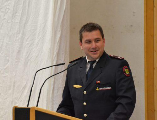 Fabian Rauth – neuer Kommandant der Feuerwehr Berglen